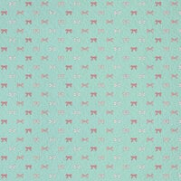 Karen Foster Design - Baby Girl Collection - 12 x 12 Paper - Bitty Bows