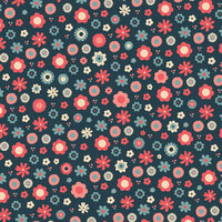Karen Foster Design - Mother Collection - 12 x 12 Paper - Blooms-n-Dots