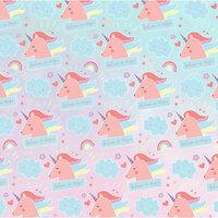 Karen Foster Design - Favorite Things Collection - 12 x 12 Paper - Unicorn Magic
