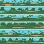 Karen Foster Design - Golf Collection - 12 x 12 Paper - Cart Jockey