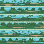 Karen Foster Design - Golf Collection - 12 x 12 Paper - Cart Jockey