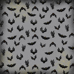 Karen Foster Design - Halloween Collection - 12 x 12 Paper - Bat Bash