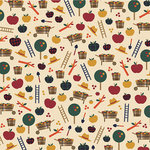 Karen Foster Design - Fall Collection - 12 x 12 Paper - Apple Harvest