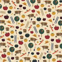 Karen Foster Design - Fall Collection - 12 x 12 Paper - Apple Harvest