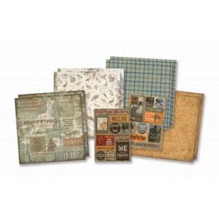 Karen Foster Design - Hunting Collection - Hunting Scrapbook Kit