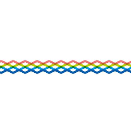 Karen Foster Design - Pavilio Lace Tape - Wave - Aqua
