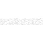 Karen Foster Design - Pavilio Lace Tape - Botanical Floret - White - 47 mm