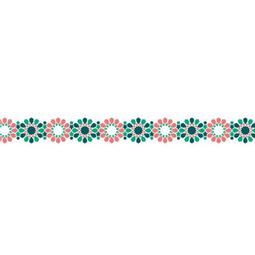 Karen Foster Design - Pavilio Lace Tape - Tile - Lush