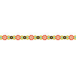 Karen Foster Design - Pavilio Lace Tape - Mini - Temari - Red
