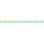 Karen Foster Design - Pavilio Lace Tape - Mini - Sun Son - Blue
