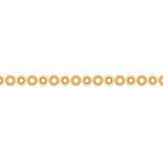 Karen Foster Design - Pavilio Lace Tape - Mini - Sun Son - Red