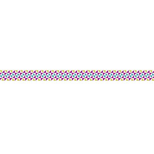 Karen Foster Design - Pavilio Lace Tape - Mini - Happy Village - Purple