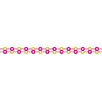 Karen Foster Design - Pavilio Lace Tape - Mini - Button - Pink