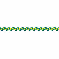 Karen Foster Design - Pavilio Lace Tape - Mini - Spiral - Green