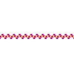 Karen Foster Design - Pavilio Lace Tape - Mini - Spiral - Pink