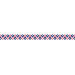 Karen Foster Design - Pavilio Lace Tape - Mini - Stardots - Pink