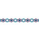 Karen Foster Design - Pavilio Lace Tape - Tile - Pink