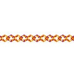 Karen Foster Design - Pavilio Lace Tape - Crystal - Orange