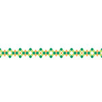 Karen Foster Design - Pavilio Lace Tape - Stitch - Green