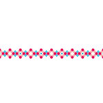 Karen Foster Design - Pavilio Lace Tape - Stitch - Pink
