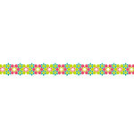 Karen Foster Design - Pavilio Lace Tape - Arabesque - Green