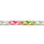 Karen Foster Design - Pavilio Lace Tape - Umi - Silver