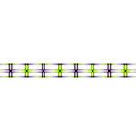 Karen Foster Design - Pavilio Lace Tape - Tanabata - Green