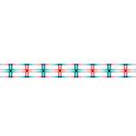 Karen Foster Design - Pavilio Lace Tape - Tanabata - Pink