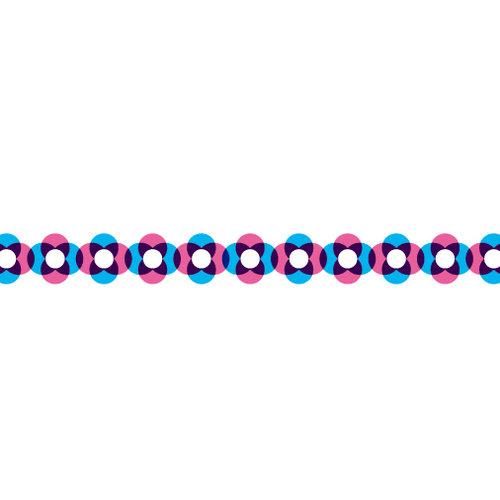 Karen Foster Design - Pavilio Lace Tape - Rotala - Pink