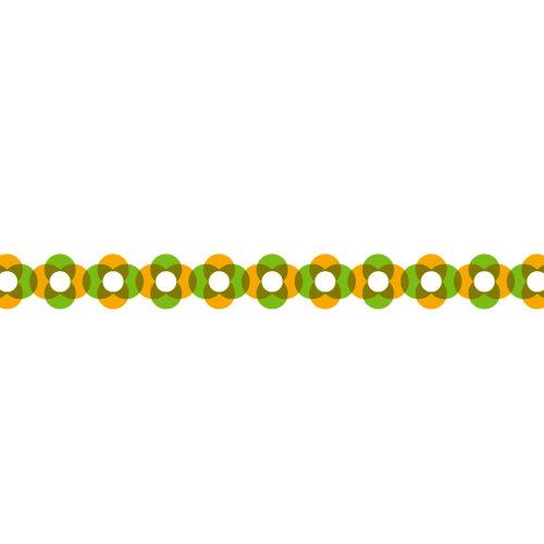 Karen Foster Design - Pavilio Lace Tape - Rotala - Yellow