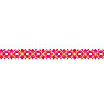 Karen Foster Design - Pavilio Lace Tape - Check - Red