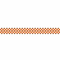 Karen Foster Design - Pavilio Lace Tape - Mesh - Orange