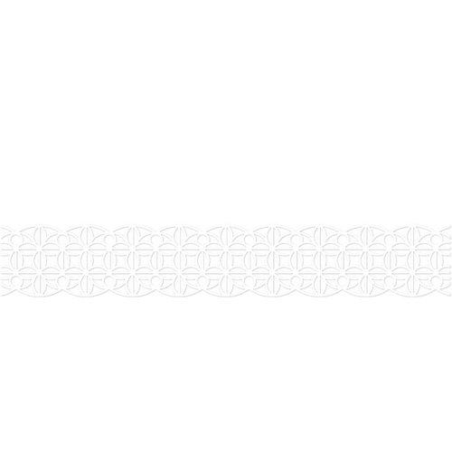 Karen Foster Design - Pavilio Lace Tape - Mini - Leaf - White