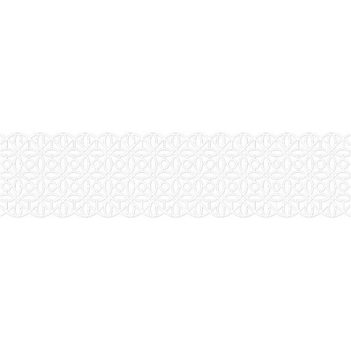 Karen Foster Design - Pavilio Lace Tape - Gem - White - 70 mm
