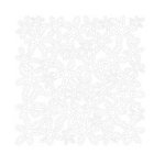 KI Memories - Lace Cardstock - Bouquet - White, CLEARANCE