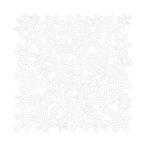 KI Memories - Lace Cardstock - Bouquet - White, CLEARANCE