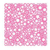 KI Memories - Lace Cardstock - Posies - Piñata, CLEARANCE