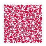 KI Memories - Lace Cardstock - Stars - Red Hot