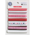 KI Memories - Kiss Me Collection - Sashes Ribbons - Kiss Me