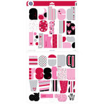 KI Memories - Kiss Me Collection - Mega Alphasets Die Cut Monograms  - Kiss Me, CLEARANCE