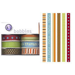 KI Memories - Bobbins - Ribbon - Grateful Thanksgiving