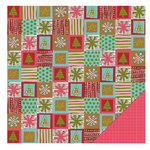 KI Memories - Love Elsie - Noel Christmas Collection - Double Sided Paper - Quilted
