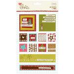KI Memories - Love Elsie - Noel Christmas Collection - Gel Stickers - Noel Square Gels, CLEARANCE