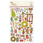 KI Memories - Love Elsie - Noel Christmas Collection - Rub-Ons - Noel Doodles
