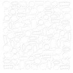 KI Memories - Love Elsie - Zoe Collection - Embossed Cardstock - Brainstorm, CLEARANCE