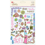 KI Memories - Love Elsie - Claire Collection - Rub-Ons - Claire Doodles, CLEARANCE