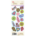 KI Memories - Love Elsie - Claire Collection - Chipboard Buttons - Claire Shapes, CLEARANCE