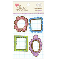 KI Memories - Love Elsie - Claire Collection - Soft Charms - Claire Windows, CLEARANCE