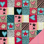 KI Memories - Love Elsie - Roxie Collection - Double Sided Paper - Roxie Quilt, BRAND NEW