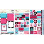 KI Memories - Love Elsie - Roxie Collection - Cardstock Stickers - Roxie Trinkets, BRAND NEW